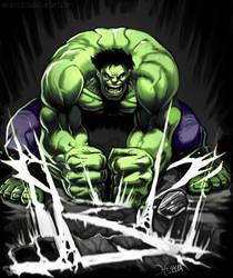 Hulk SMASH by el-grimlock