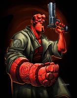 Hellboy by el-grimlock