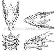 Vistas Dragon by el-grimlock