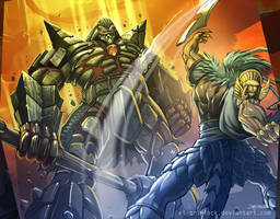 Soul Calibur Battle by el-grimlock