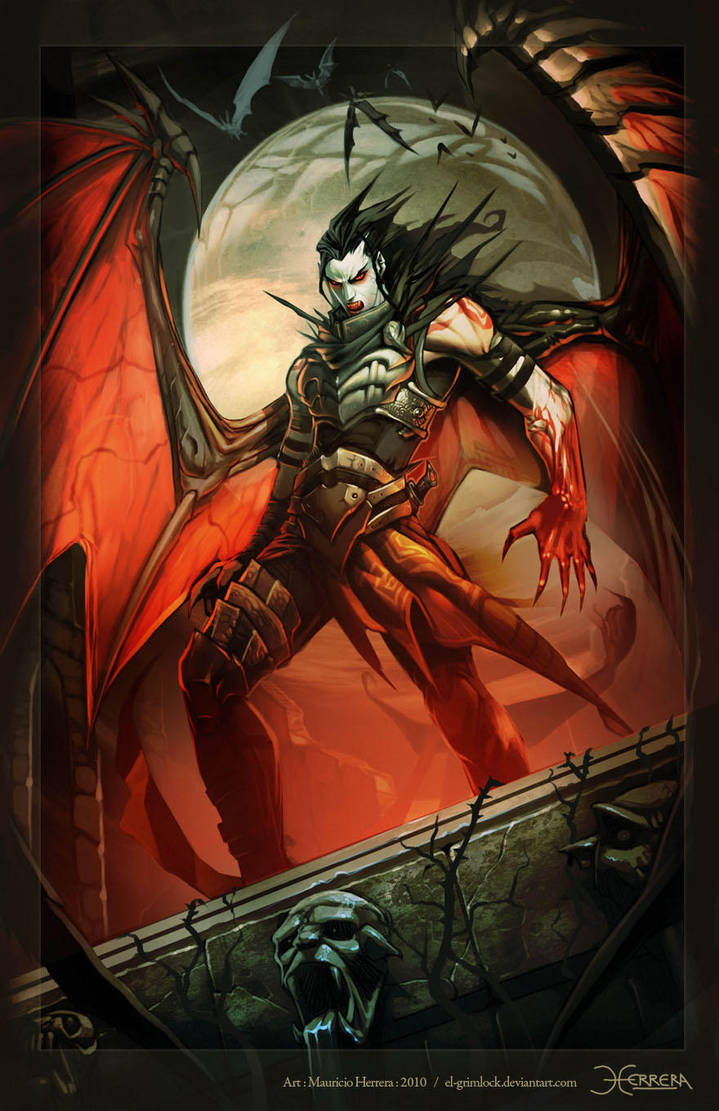 Vampire by el-grimlock