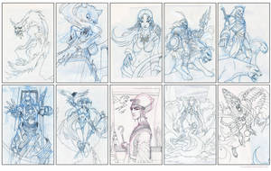 MYL Sketchs by el-grimlock
