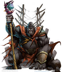 Gorila King by el-grimlock