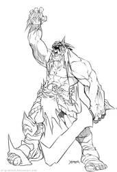 ORC sketch by el-grimlock