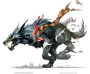 Werewolve, Into the wild. by el-grimlock