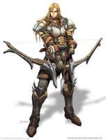ARCHER : Half Elf. by el-grimlock