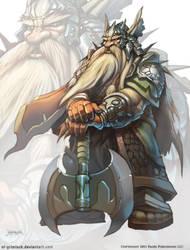 Dwarf king by el-grimlock