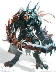 Werewolf Warrior by el-grimlock