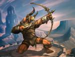 Minotaur Archer by el-grimlock