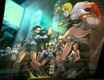 Street Fighter 25th Anniversary Tribute by el-grimlock