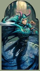Lokis everywhere XD by el-grimlock