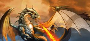 DRAGON enojao by el-grimlock