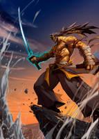 Crimson Legends : Invincible by el-grimlock