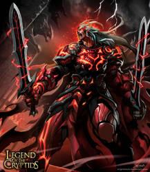 Crimson striker Advanced by el-grimlock