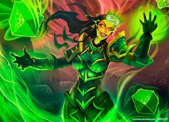 World of Warcraft - Warlock Ability by el-grimlock