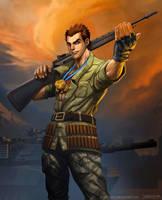 Soldier - War Games. by el-grimlock