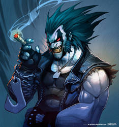 LOBO - Time lapse VIDEO by el-grimlock