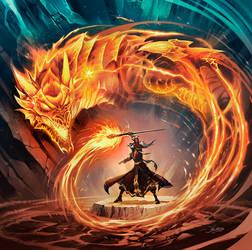 Dragon's Breath - HearthStone by el-grimlock