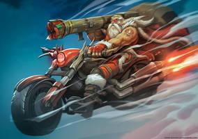 Action Claus! by el-grimlock