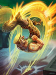 Guile - Street  Fighter. by el-grimlock