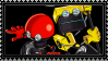 Orbot and Cubot stamp by AftonTrash