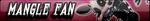 Mangle Fan Button by AftonTrash
