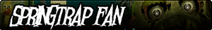 Springtrap Fan Button by AftonTrash