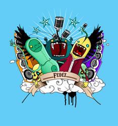 Illustration_Logo for Fedez MC by efilArt