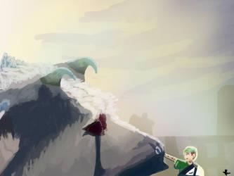 Trico And Jacksepticeye (The Last Goodbye) by AnimeGeekyNerd1324
