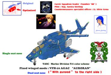 TASC Marine Div. VFH-12G Dual seat Super Auroran by yui1107