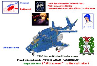 TASC Marine Div. VFH-12C Single seat Super Auroran by yui1107
