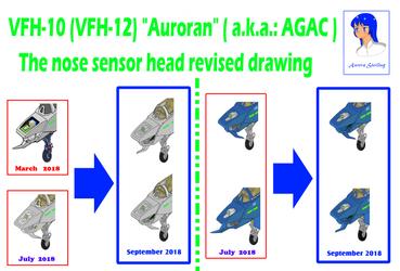 VFH-10 Auroran AGAC nose  head revised drawing by yui1107