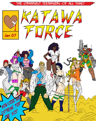 Katawa Force by AlanBates
