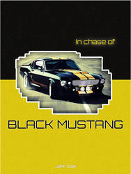 In Chase of Black Mustang by adrijusg