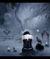 Awakening of the sleepy lake by Lyssiana