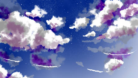 cloudy BG by CursedSeraphim