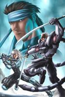 Metal Gear Sons of Liberty by gaudiamo