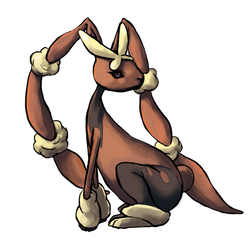 Gotta Draw Them All: Mega Lopunny by GoldenLionofRa