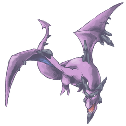 Gotta Draw Them All: Mega Aerodactyl Shiny by GoldenLionofRa