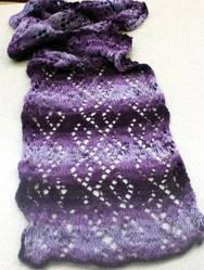 knit scarf by lphopkins2002