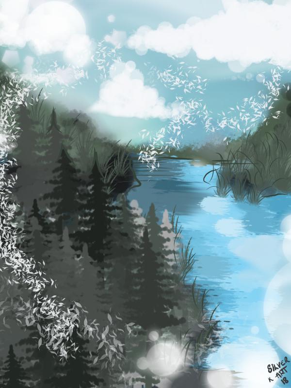 Living in a Daydream by silverkrin