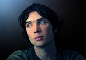 Cillian Murphy by zanephiri