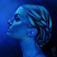 Blauw by zanephiri