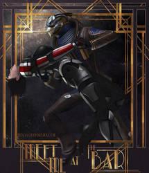 Mass Effect - Garrus and Shepard by zanephiri
