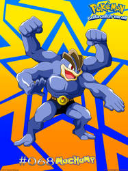 068 Machamp by PaMeLaEnGeL