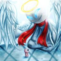 The Angel by Luluzii