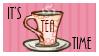 Tea Time Stamp by regina35nocis