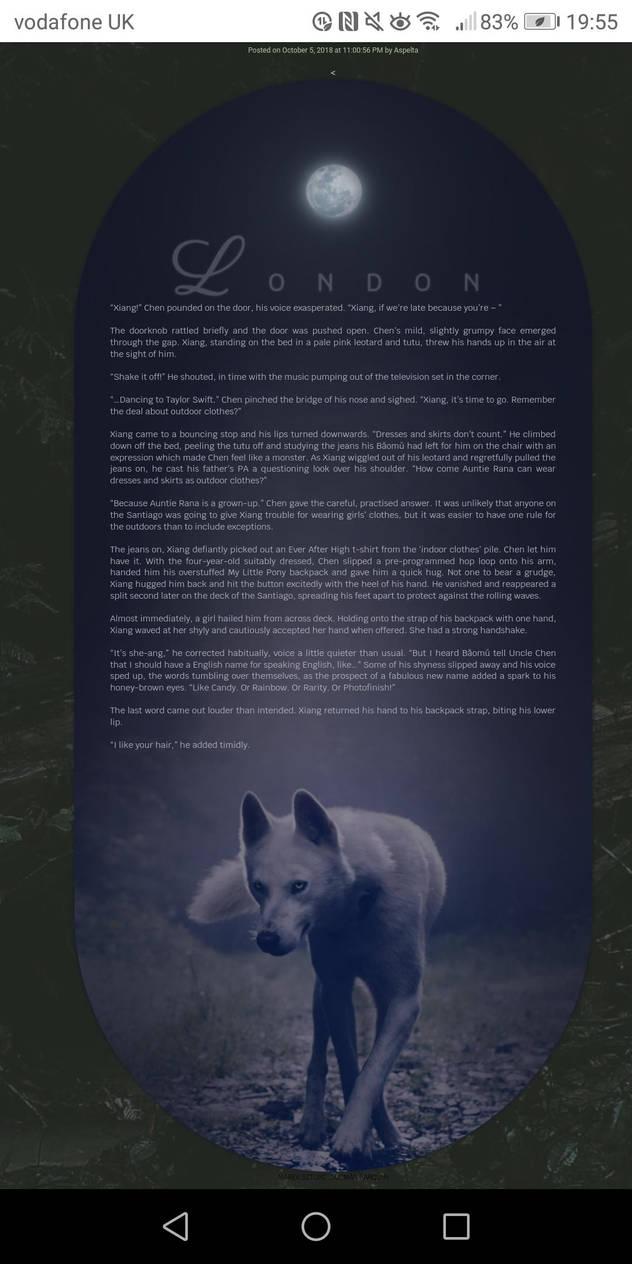 HTML: moon dog by thetamar