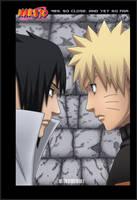 Naruto and Sasuke-or. by OxyNik