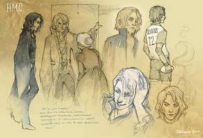 HMC- novel doodles by frizz-bee